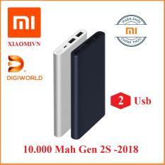 Pin sạc dự phòng Xiaomi 10000 mAh Gen 2S sạc nhanh – Hàng DiGiWorld Phân phối Đang Bán Tại KIM LONG.