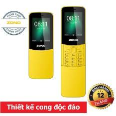Điện thoại di động ZONO N8110 2.4 inch, 2 Sim – Vàng