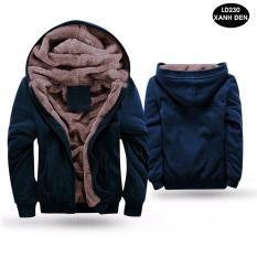 Áo khoác nam vải nỉ lót lông thú siêu ấm siêu rẻ siêu đẹp