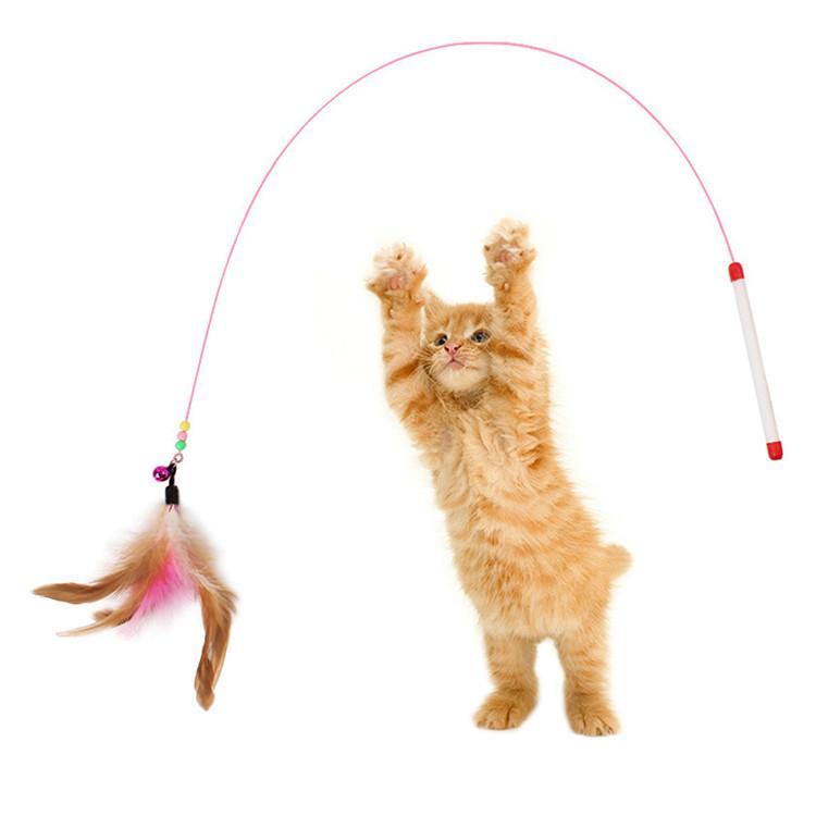Cần câu dây thép có chuông cho mèo - Cần câu 002