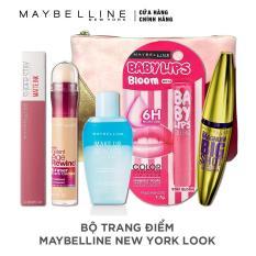 Bộ sản phẩm trang điểm Maybelline New York Look