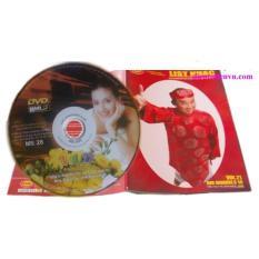 Đĩa Karaoke 6 số California Vol 21 – MS 28 (Hình 1 cô gái Mỹ) + Sách List nhạc