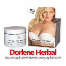 Kem nở ngực Dorlene Herbal Thái Lan có hạt masaage dành cho ngực làm săn chắc nâng ngực chảy xệ – HX2024 – chăm sóc cơ thể – chăm sóc ngực