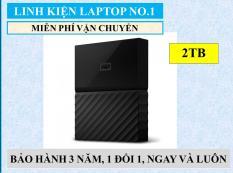 Ổ cứng di động WD My Passport 2TB – Hàng Nhập Khẩu + Tặng kèm Hộp đựng ổ cứng di động