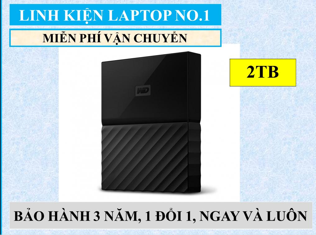 So sánh giá Ổ cứng di động WD My Passport 2TB – Hàng Nhập Khẩu + Tặng kèm Hộp đựng ổ cứng di động Tại linh kien laptop No.1 ( hà nội)