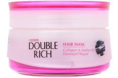 Kem ủ Double Rich Collagen và Jojoba oil Phục hồi tóc 150g Hồng