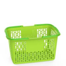 BỘ 5 Giỏ nhựa đựng đồ SIÊU THỊ -45 x 28 x 25 cm