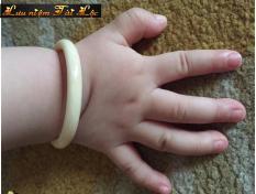 Vòng tay Ngà Voi cho bé