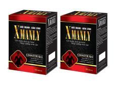 Combo 2 hộp Xmanly bổ thận tráng dương, tăng testosteron tự nhiên