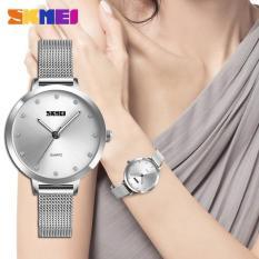 Đồng hồ nữ dây thép lưới Skmei 1291 sang trọng (Nhiều màu)