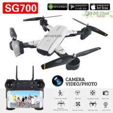 Flycam SG700 Thế Hệ Mới Chụp Ảnh Bằng Cử Chỉ, Video HD 720P, Camera 2.0MP, Cảm Biến Di Chuyển Theo Bàn Tay, Truyền Hình Ảnh Trực Tiếp Về Điện Thoại