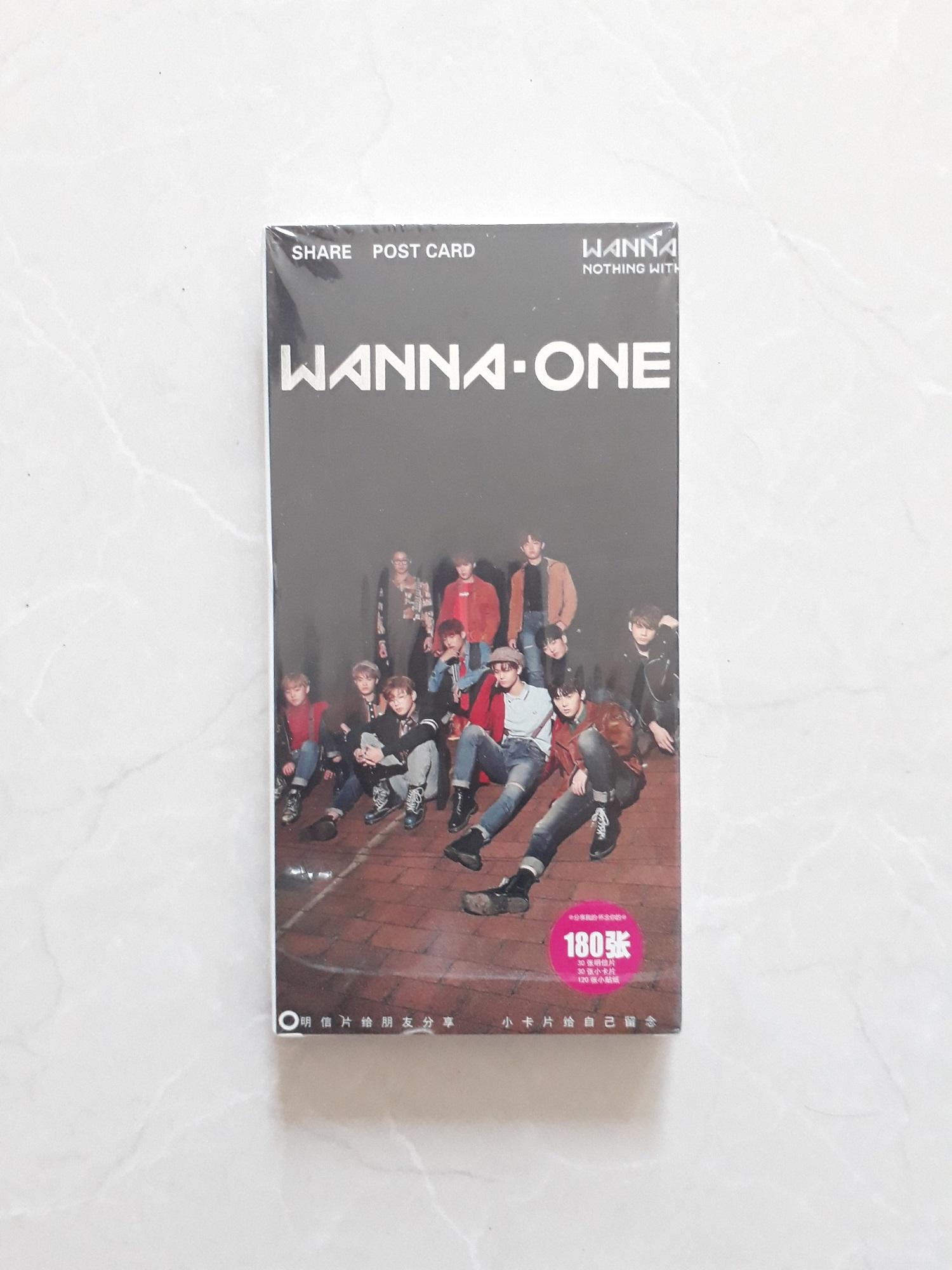 Postcard Wanna One new