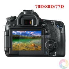 Kính cường lực cho máy ảnh Canon 70D/80D/77D