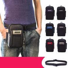 Túi đựng điện thoại đeo hông, Túi đeo hông thắt lưng + khẩu trang ninja