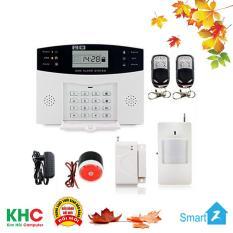 Bộ Báo Động Chống Trộm Không Dây Qua Sim GSM + Điện Thoại Bàn PSTN GP05 – Kim Hải Computer