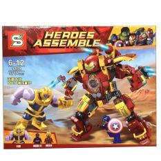 Xếp hình Lego Heroes Assemble 1108- 371 pcs