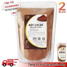 02 gói (1kg) bột ca cao nguyên chất 100% – Light Cacao