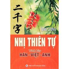 Sách: Nhị Thiên Tự (Trình Bày Hán – Việt – Anh)