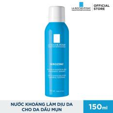 Xịt khoáng giúp kiểm soát bóng nhờn và giảm sưng viêm La Roche Posay Serozinc 150ml