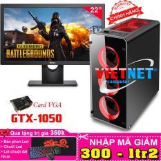 Máy tính chuyên game core i5 3470 card GTX 1050 RAM 16GB 1TB + LCD 22 inch