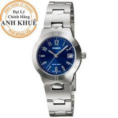 Đồng hồ nữ dây kim loại Casio Anh Khuê LTP-1241D-2A2DF