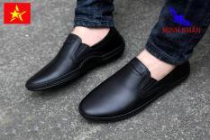 Giày lười nam thời trang da bò thật (GL-08) [Minh Nhân Shop]