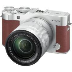 FUJIFILM X-A3 KIT XC16-50MM F3.5-5.6 OIS II (Nâu) + Tặng kèm 1 thẻ 16GB 48MB + 1 Filter 58mm + 1 Túi Mirroless Human màu ngẫu nhiên