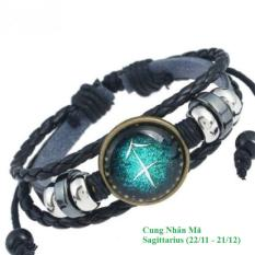 Mẫu 04- Vòng đeo tay 12 cung hoàng đạo Cung Nhân Mã -Sagittarius ( 22/11 – 21/12)