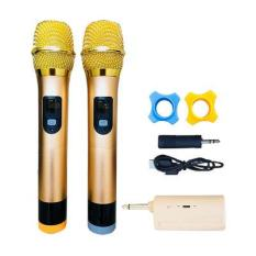 Bộ 2 micro Karaoke không dây đa năng cho loa kéo – Hỗ trợ các thiết bị có jack cắm 3.5mm và 6.5mm