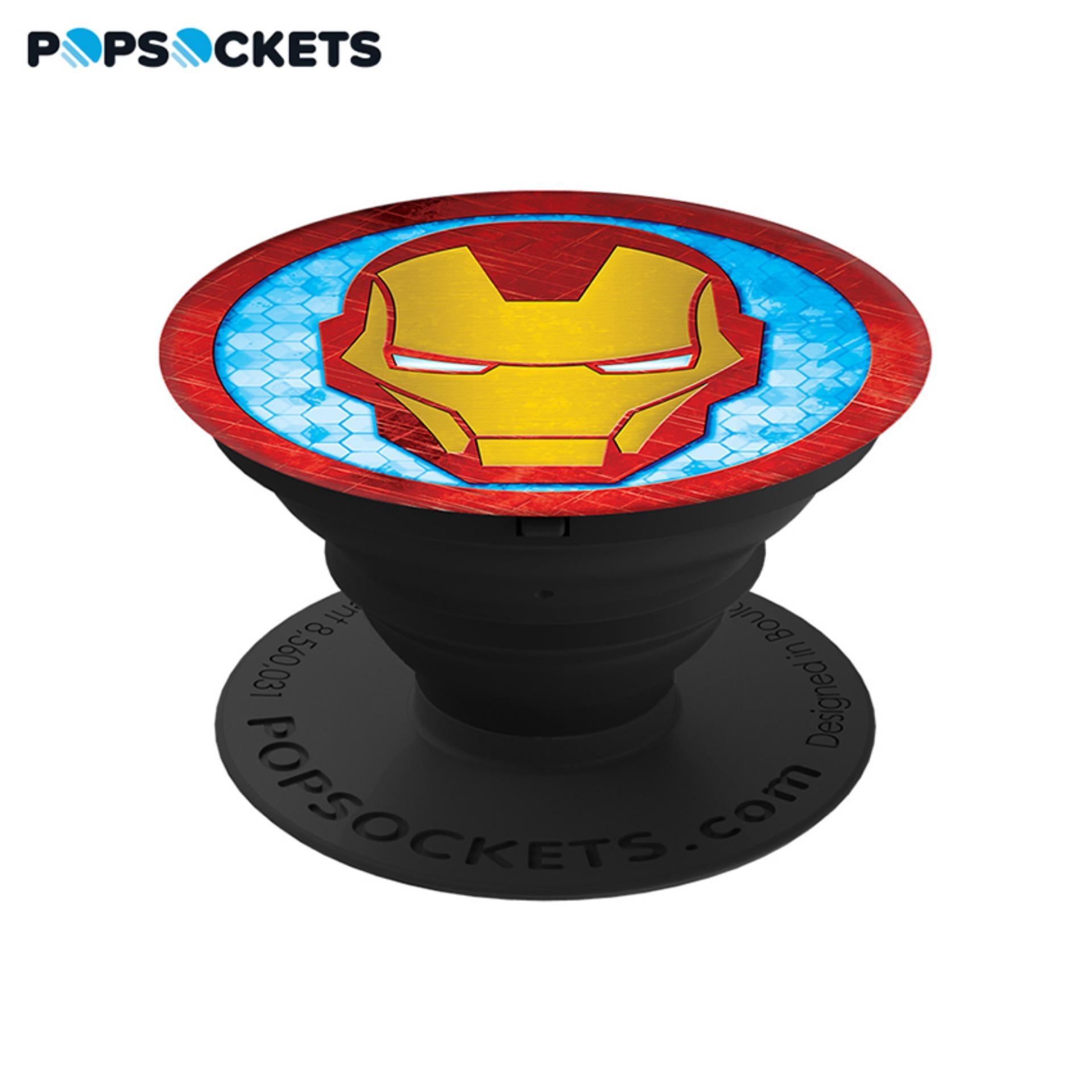 Giá Đỡ Điện Thoại Thời Trang PopSockets Iron Man Icon