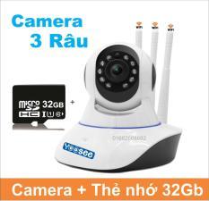 (COMBO) Camera IP 3 Anten YOOSEE- Tặng thẻ 32GB