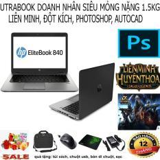 Siêu Phẩm Utrabook Mỏng Nhẹ cao cấp-HP EliteBook 840 G1 ( i5-4300U, ram 4GB, HDD 250GB, VGA on Intel HD 4400, màn 14″ HD)