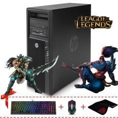PC Chơi Game HP Z220 MT (Core I5 3470, Ram ECC 16GB, SSD 240GB, HDD 1TB, GTX 1050 2GB) + Quà Tặng – Hàng Nhập Khẩu