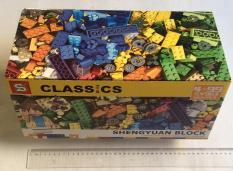 Bộ LEGO Classic Sáng Tạo SY963 cỡ lớn 562 chi tiết đẹp(18x37x18cm)