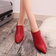 Giày bốt nữ TTBS 09 cổ ngắn – Hana