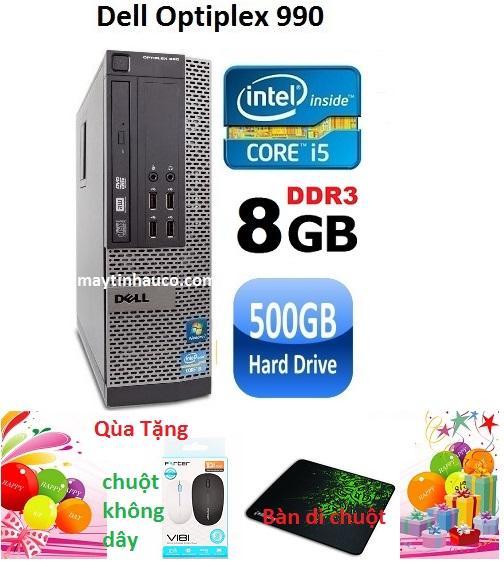 Thùng CPU Dell optiplex 990 ( Core i5 2400 / 8G / 500G ) Tặng chuột không dây chính hãng...