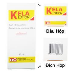 Thuốc trị viêm lỗ chân lông Kela Lotion thái lan 30ml