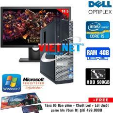 Bộ Máy tính đồng bộ Dell Optiplex 390/990 (Core i5 / 4GB / 500GB) + LCD Dell 18,5 inch. Tặng Bàn phím, chuột, miếng lót chuột