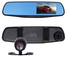Camera hành trình tích hợp camera lùi Vehicle BlackBox fullHD 1080