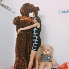Gấu bông Teddy khổ vải 2m size lớn nhất – Hàng cao cấp cực đẹp