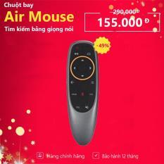 Chuột Bay, Điều Khiển TV Tìm Kiếm Bằng Giọng Nói Air Mouse Remote Voice G10 / Q6 / V1