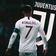 Bộ quần áo bóng đá đồ đá banh Tay Dài CLB JUVENTUS 2018 sọc trắng đen phiên bản mới nhất