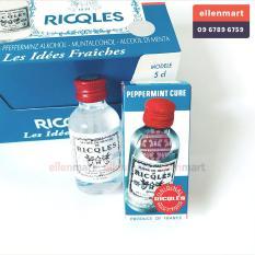 3 chai dầu bạc hà Alcool De Menthe Ricqles dùng cho phụ nữ sau sinh Pháp