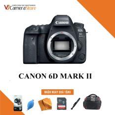 Canon EOS 6D Mark II Body – Nhập khẩu, Tặng kèm thẻ nhớ 32gb, túi Canon Focus, bóng thổi, khăn lau, bút lau, dán màn hình