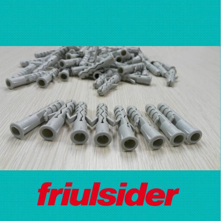 Túi 100 cái tắc kê nhựa Friulsider TU 6x30 (Tắc kê hỏa tiễn)