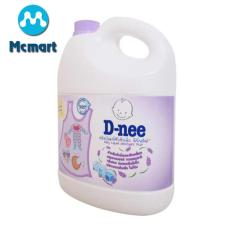 Nước giặt xả quần áo trẻ em Dnee 3000ml Thái Lan (Màu tím) – (Hàng công ty chính hãng)