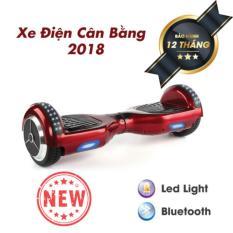 XE ĐIỆN CÂN BẰNG THÔNG MINH – 6.5 INCH BẢN MỚI 2018 Có Bluetooth, đèn led, tay xách thuận tiện