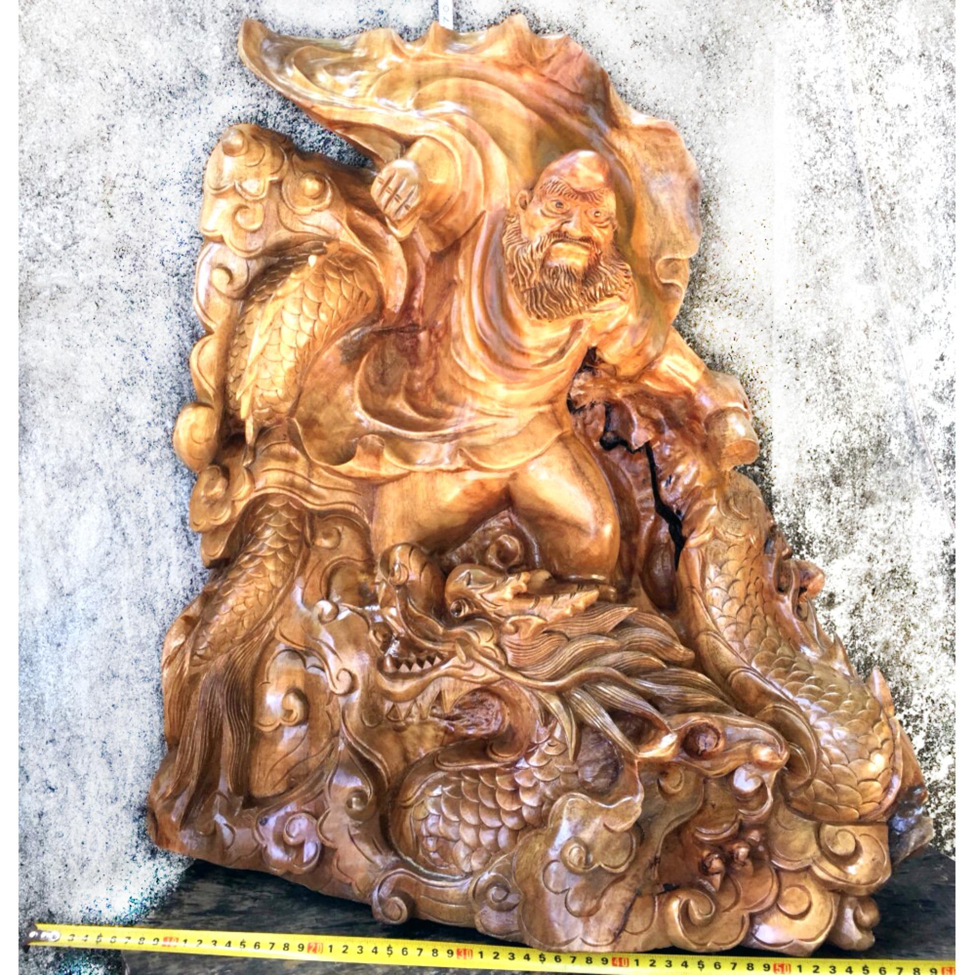 Tượng phật Đạt Ma Sư Tổ – (XX21) – ngang 60cm x cao 70 cm x sâu 40cm