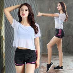 Combo bộ quần áo thể thao nữ Skot 02 (Hàng nhập khẩu) đồ tập gym, yoga