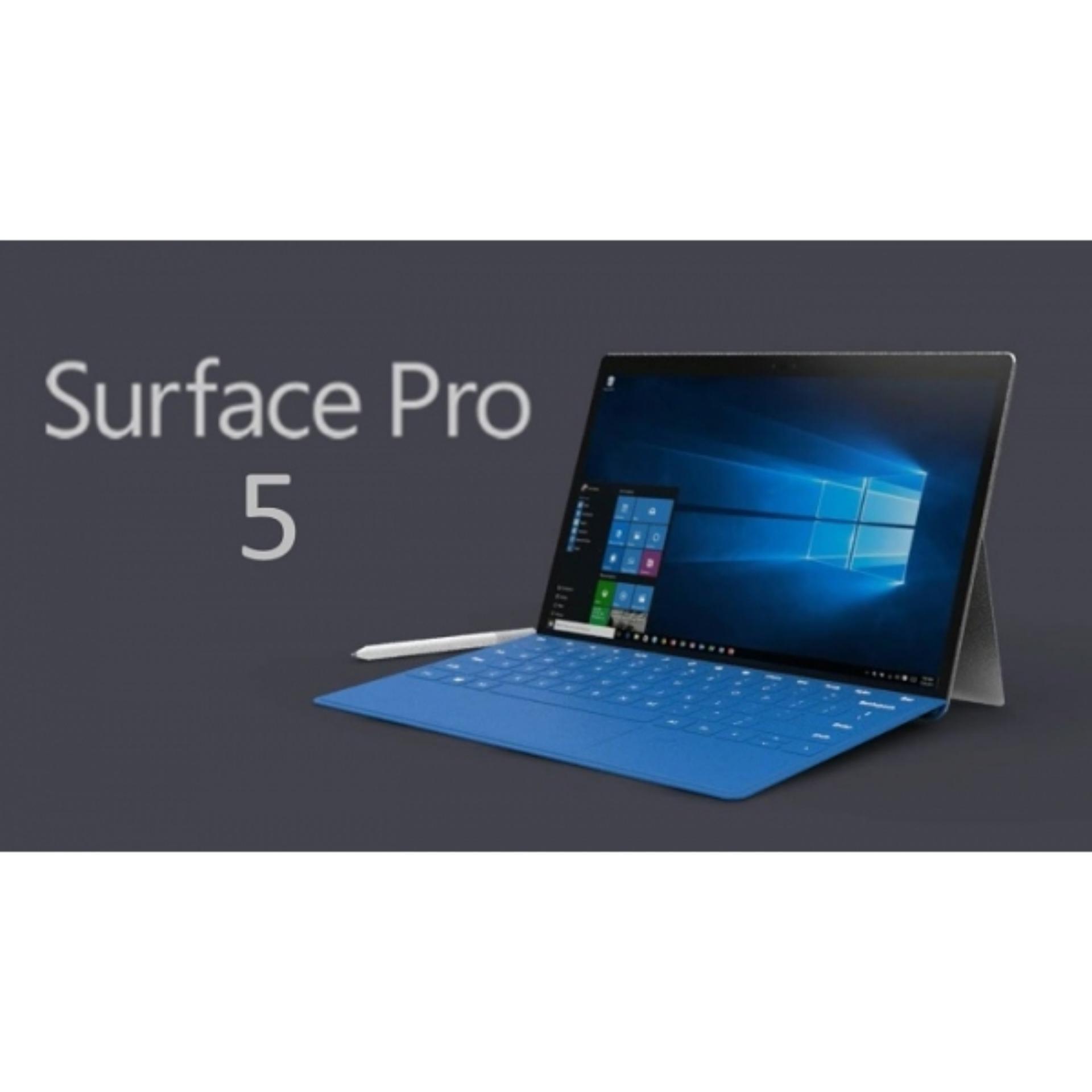 Laptop Surface Pro 5 Core i7 NEW SEALCore™ i7 256GB 8GB 12.3inch (2736 x 1824) Touchscreen - Hàng nhập khẩu